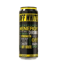 Энергетический напиток OFF WHITE Exotic 450мл ж/б