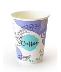 Бумажный термостакан Coffee pastel d=90 300мл