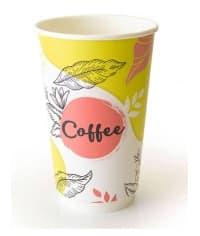 Бумажный термостакан Coffee pastel d=90 400мл