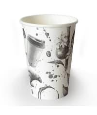 Бумажный стакан Barista Flat White d=90 400мл