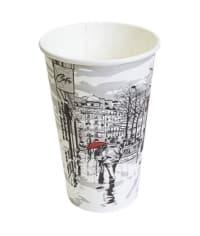Бумажный стакан Big City Life d=90 400мл
