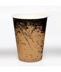 Бумажный стакан Крафт Гранж d=90 300мл