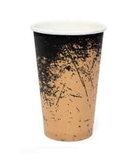 Бумажный стакан Крафт Гранж d=90 400мл