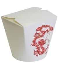 Чайна-бокс с круглым дном Красный Дракон 700мл