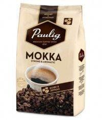 Кофе в зернах Paulig Mokka 1000 гр (1кг)