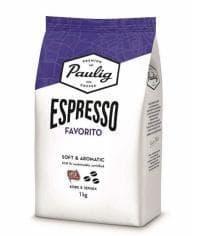 Кофе в зернах Paulig Espresso Favorito 1000 гр (1кг)
