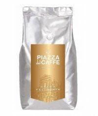 Кофе в зернах Piazza del Caffe Crema Vellutata 1000 гр)