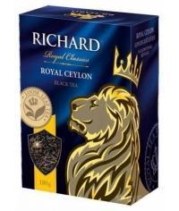 Чай черный Richard Royal Ceylon листовой 180 г