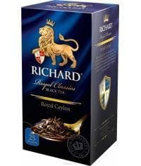 Чай черный Richard Royal Ceylon 25 саше х 2г