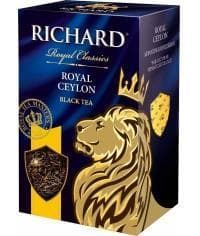 Чай черный Richard Royal Ceylon листовой 90г