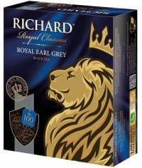 Чай черный Richard Royal Earl Grey 100 пак. х 2г