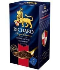 Чай черный Richard Royal English Breakfast 25 саше х 2г