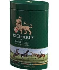 Подарочный чай Richard Royal Green зел. листовой 80 г банка