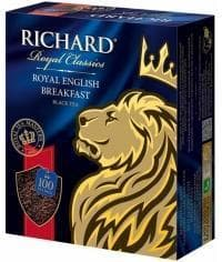 Чай черный Richard Royal English Breakfast 100 пак. х 2г