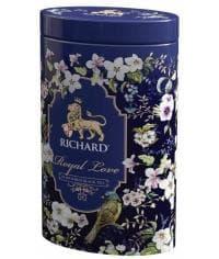 Подарочный чай черный Richard Royal Love листовой аром. 80г жест. банка