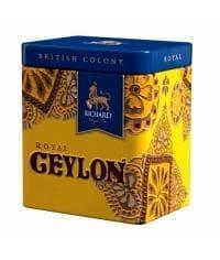 Подарочный чай Richard British Colony Royal CEYLON черный крупнолистовой 50г жест. банка