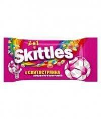 Драже Skittles 2 в 1 розовый Скитлс 38г