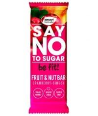 Батончик фруктово-ореховый Smart Formula Cranberry–ginger 40 г