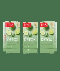 Чай TESS Get Detox зелёный с добавками 1,5 г х 20 пак.
