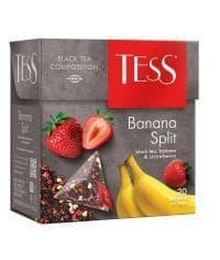Чай TESS Banana Split черный аромат. 1,8 г х 20 пирам.