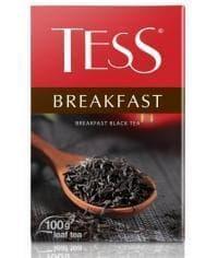 Чай TESS BREAKFAST черный листовой 100г
