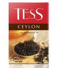 Чай TESS CEYLON черный листовой 100г