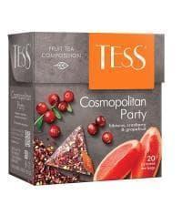 Чай TESS Cosmopolitan Party цветочный аромат. 2 г х 20 пирам.