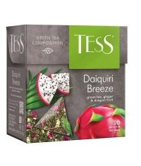 Чай TESS Daiquiri Breeze зелёный аромат. 1,8 г х 20 пирам.