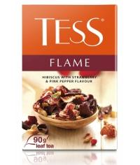 Чай TESS FLAME фрукт. листовой земляника роз. перец 90г