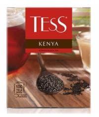 Чай TESS KENYA черный гранулир. 100 пак. х 2г