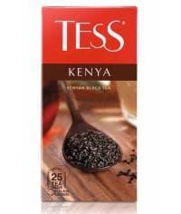 Чай TESS KENYA черный гранулир. 25 пак. х 2г