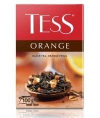 Чай TESS ORANGE черный листовой аром. 100г
