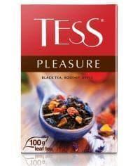 Чай TESS Pleasure черный листовой 100г