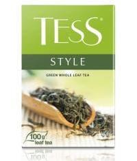 Чай TESS Style зеленый крупнолистовой 100г