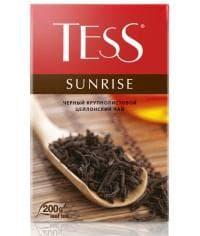 Чай TESS SUNRISE черный крупнолистовой 200г