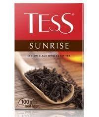 Чай TESS SUNRISE черный крупнолистовой 100г
