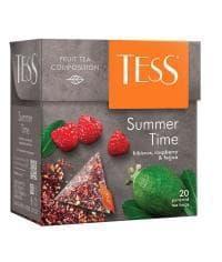 Чай TESS Summer Time цветочный аромат. 1,8 г х 20 пирам.
