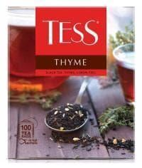 Чай TESS Thyme черный с добавками 100 пак. х 1,5г