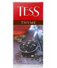 Чай TESS Thyme черный с добавками 25 пак. х 1,5г