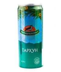 Напиток Черноголовка Тархун 330мл ж/б