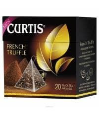 Чай черный Curtis French Truffle аром. в пирамидках (20 х 1,8г)