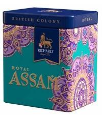 Подарочный чай Richard BC Royal ASSAM черн. крупн. 50г банка