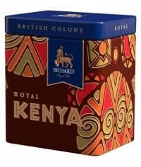 Подарочный чай Richard BC Royal KENYA черн. крупн. 50г банка