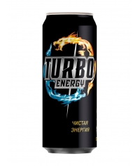 Turbo Energy Дерзкая Энергия 500мл ж/б
