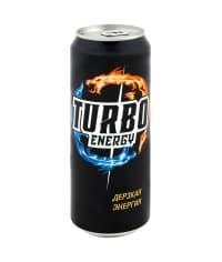 Turbo Energy Дерзкая Энергия банка 250мл