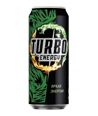 Turbo Energy Яркая Энергия банка 500мл