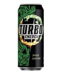 Turbo Energy Яркая Энергия 500мл ж/б