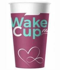 Бумажный стакан Wake Me Cup (100 шт) d=90 400мл