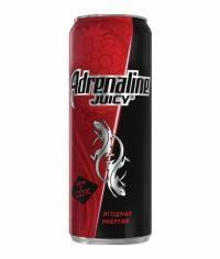 Адреналин Ягодная энергия 500 мл банка Adrenaline Juicy 0,5 л