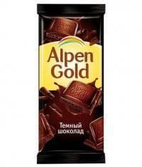 Шоколад Альпен Голд Темный Alpen Gold Dark 90гр.